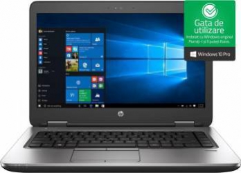 Laptop HP ProBook 640 G3 Intel Core Kaby Lake i7-7600U 256GB 8GB Win10 Pro FullHD Fingerprint Laptop laptopuri