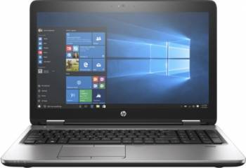 Laptop HP ProBook 650 G3 Intel Core Kaby Lake i5-7200U 256GB 8GB FullHD Win10 Pro Fingerprint Silver Laptop laptopuri
