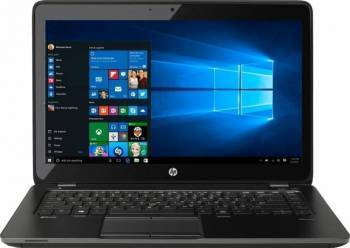 Laptop HP ZBook 14 G2 i7-5500U 1TB-7200rpm 8GB AMD FirePro M4150 1GB Win10Pro FHD Laptop laptopuri
