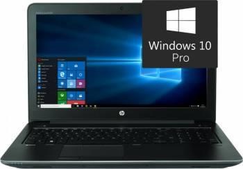 Laptop HP ZBook 15 G3 Intel Core i7-6700HQ 256GB 8GB nVidia Quadro M1000M 2GB Win10 Pro FullHD FPR Laptop laptopuri