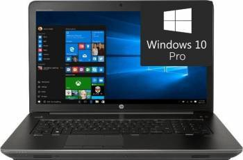 Laptop HP Zbook 17 G4 Intel Core Kaby Lake i7-7700HQ 512GB 16GB nVidia P4000 8GB Win10 Pro FullHD Fingerprint Laptop laptopuri