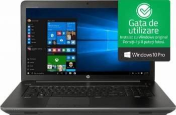 Laptop HP Zbook 17 G4 Intel Core Kaby Lake i7-7820HQ 512GB 32GB nVidia P3000 6GB Win10 Pro FullHD Fingerprint Laptop laptopuri