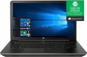 Laptop HP ZBook G3 Intel Core Skylake i7-6700HQ 1TB HDD + 256GB SSD 16GB nVidia Quadro M2200 4GB FullHD Win7 / Win10 Pro Laptop laptopuri