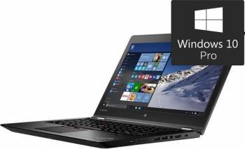 Laptop Lenovo 2in1 ThinkPad P40 Yoga Intel Core i7-6500U 256GB 8GB nVidia Quadro M500M 2GB Win10 Pro FullHD Laptop laptopuri