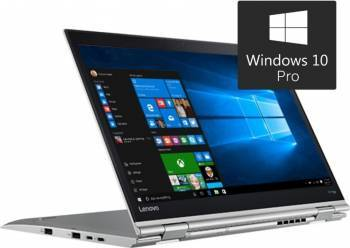 Laptop Lenovo 2in1 X1 Yoga Gen 2 Intel Core Kaby Lake i7-7600U 1TB SSD 16GB Win10 Pro WQHD Fingerprint Silver Laptop laptopuri