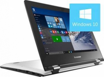 Laptop Lenovo 2in1 Yoga 300-11IBR Intel Celeron N3060 32GB eMMC 4GB Win10 HD Laptop laptopuri