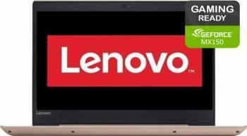 Laptop Lenovo IdeaPad 520 Intel Core Kaby Lake R(8th Gen) i5-8250U 2TB 8GB nVidia 150MX 4GB FullHD Gold laptop laptopuri