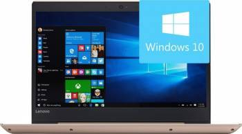 Laptop Lenovo IdeaPad 520S-14IKB Intel Core Kaby Lake i7-7500U 1TB HDD+128GB SSD 8GB Win10 FullHD Gold laptop laptopuri