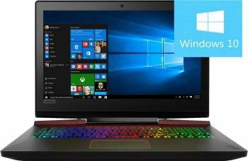 Laptop Gaming Lenovo Legion Y920-17IKB Intel Core Kaby Lake i7-7820HK 2TB SSD 64GB nVidia Geforce GTX 1070 8GB Win10  Laptop laptopuri