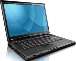 Laptop Lenovo T500 Core 2 Duo P8600 160GB 2GB Win 10 Home