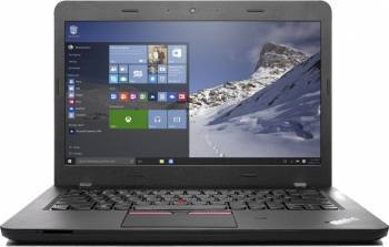 Laptop Lenovo ThinkPad E460 Intel Core Skylake i7-6500U 1TB 8GB AMD Radeon R7 M360 2GB Win10Pro FHD Fingerprint Reader