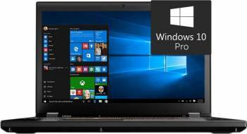 Laptop Lenovo ThinkPad P50 Intel Core i7-6820HQ 512GB 16GB nVIDIA Quadro M1000M 4GB Win10 Pro FullHD Fingerprint Laptop laptopuri