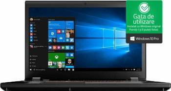Laptop Lenovo ThinkPad P51 Intel Core Kaby Lake i7-7820HQ 512GB 16GB nVIDIA Quadro M2200M 4GB Win10 Pro FullHD FPR Laptop laptopuri