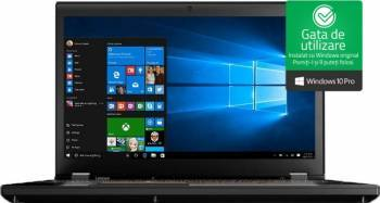 Laptop Lenovo ThinkPad P51 Intel Core Kaby Lake i7-7820HQ 512GB SSD 16GB UHD Win10 Pro Laptop laptopuri