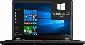 Laptop Lenovo ThinkPad P51 Intel Xeon E3-1535M v6 1TB 32GB nVidia Quadro M2200M 4GB Win10 Pro UHD Fingerprint Laptop laptopuri