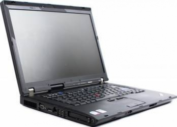 Laptop Lenovo Thinkpad R500 Core 2 Duo T5870 160GB 2GB X4500 256MB Win10 Home