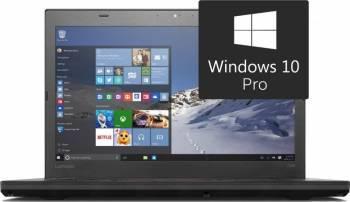 Laptop Lenovo Thinkpad T460 Intel Core i5-6300U 256GB 8GB Win10 Pro FullHD Fingerprint Laptop laptopuri