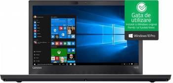 Laptop Lenovo ThinkPad T470 Intel Core Kaby Lake i7-7500U 512GB 16GB Win10 Pro FullHD Fingerprint Laptop laptopuri