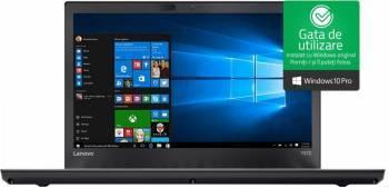 Laptop Lenovo ThinkPad T470p Intel Core Kaby Lake i7-7820HQ 512GB 16GB nVidia Geforce 940MX 2GB Win10 Pro WQHD FPR Laptop laptopuri