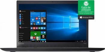 Laptop Lenovo ThinkPad T470s Intel Core Kaby Lake i5-7200U 256GB 8GB Win10 Pro FullHD FPR Laptop laptopuri