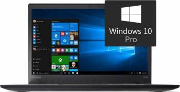 Laptop Lenovo ThinkPad T470s Intel Core Kaby Lake i5-7200U 256GB 8GB Win10 Pro FullHD IPS Fingerprint Laptop laptopuri