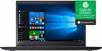 Laptop Lenovo ThinkPad T470s Intel Core Kaby Lake i7-7500U 512GB 24GB Win10 Pro WQHD Fingerprint Laptop laptopuri