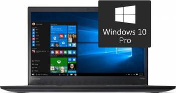 Laptop Lenovo ThinkPad T470s Intel Core Kaby Lake i7-7600U 512GB 8GB Win10 Pro FullHD Fingerprint Laptop laptopuri