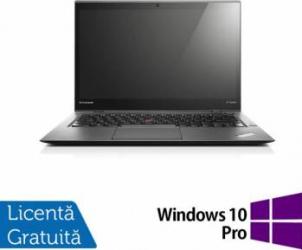 pret preturi Laptop Refurbished Lenovo ThinkPad X1 CARBON 3rd Intel Core i7-5600U 2.60GHz 8GB DDR3L 256GB SSD Windows 10 Pro M.2 14 I
