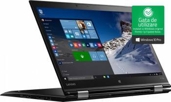 Laptop Lenovo ThinkPad X1 Yoga Intel Core Skylake i5-6200U 256GB 8GB Win10 Pro FullHD Fingerprint Laptop laptopuri