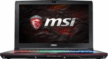 Laptop Gaming MSI GE627RD Apache Intel Core KabyLake i7-7700HQ 1TB HDD+256GB SSD 16GB nVidia Geforce GTX1050 4GB Win10 F Laptop laptopuri