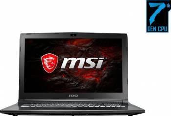 Laptop MSI GL62M 7RDX Intel Core Kaby Lake i5-7300HQ 1TB+128GB 8GB Nvidia GTX1050 2GB Win10 FullHD LED Alb Laptop laptopuri