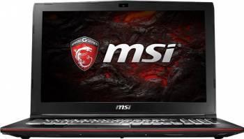 Laptop Gaming MSI GP627RD Leopard Intel Core KabyLake i7-7700HQ 1TB HDD+256GB SSD 16GB nVidia Geforce GTX1050 2GB Win10 Laptop laptopuri