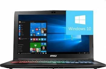 Laptop MSI GP62M 7RDX Leopard Intel Core Kaby Lake i7-7700HQ 1TB+256GB 16GB Nvidia GTX1050 2GB Win10 FullHD Laptop laptopuri