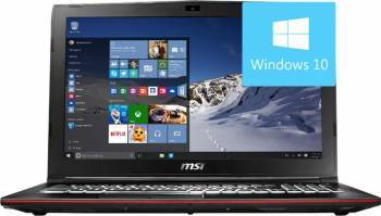 Laptop MSI GP62MVR 7RFX Intel Core Kaby Lake i7-7700HQ 1TB HDD+256GB SSD 8GB nVidia GeForce GTX1060 3GB Win10 FHD Laptop laptopuri