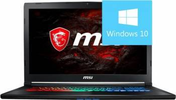 Laptop MSI GP72MVR 7RFX Intel Core Kaby Lake i7-7700HQ 1TB HDD+256GB SSD 8GB nVidia GeForce GTX1060 3GB Win10 FHD Laptop laptopuri