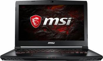 Laptop MSI GS43VR 7RE Intel Core Kaby Lake i7 7700HQ 1TB HDD+256GB SSD 16GB Nvidia GeForce GTX 1060 6GB Win10 FullHD IPS
