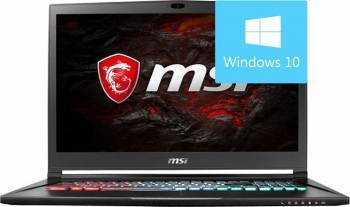 Laptop MSI GS73VR 7RG Intel Core Kaby Lake i7-7700HQ 2TB HDD+512GB 16GB nVidia GTX1070 8GB Win10 UHD Laptop laptopuri