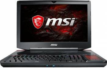 Laptop MSI GT83VR7RE TitanSLI Intel Core KabyLake i7-7820HK 1TB HDD+256GB SSD 32GB nVidia Geforce GTX1070 8GB Win10 FHD