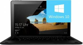 Laptop 2in1 Odys Fusion 12 Pro Intel Atom x5 Z8350 32GB 4GB Win10 FullHD Laptop laptopuri