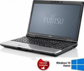 Laptop Refurbished Fujitsu LifeBook S782 i5-3340M 128GB 8GB Win 10 Home HD+ Laptopuri Reconditionate,Renew