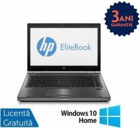 Laptop Refurbished HP EliteBook 8470p i5-3210M 240GB 8GB DVD-ROM Win 10 Home Laptopuri Reconditionate,Renew