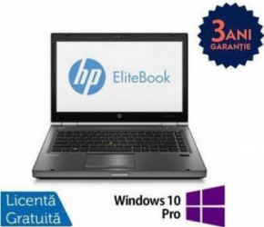 Laptop Refurbished HP EliteBook 8470p i5-3210M 240GB 8GB DVD-ROM Win 10 Pro Laptopuri Reconditionate,Renew