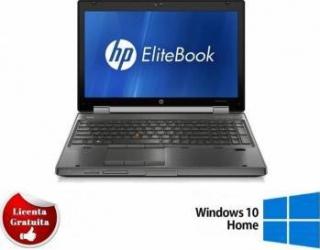 Laptop Refurbished HP Elitebook 8560w i5-2540M 8GB 1TB Nvidia Quadro 1000 2GB Win 10 Home Laptopuri Reconditionate,Renew