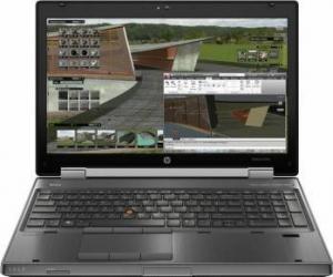 Laptop Refurbished HP EliteBook 8570w i7-3520M 8GB 320GB nVidia K1000M 2GB Win 10 Home Laptopuri Reconditionate,Renew