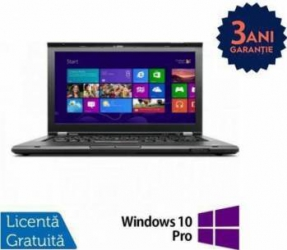 Laptop Refurbished Lenovo ThinkPad T430 i5-3320M 320GB 8GB HD+ Win 10 Pro Laptopuri Reconditionate,Renew