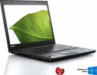 Laptop Refurbished Lenovo ThinkPad T440 i5-4300U 4GB 256GB SSD Win 10 Home Laptopuri Reconditionate,Renew