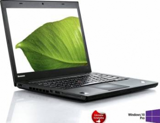 Laptop Refurbished Lenovo ThinkPad T440 i5-4300U 8GB 256GB SSD Win 10 Pro Laptopuri Reconditionate,Renew