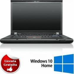 Laptop Refurbished Lenovo Thinkpad T520 i5-2520M 320GB 8GB RW NVS 4200M 1GB Win 10 Home Laptopuri Reconditionate,Renew
