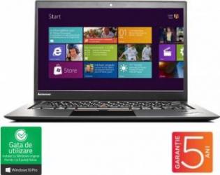 pret preturi Laptop refurbished Lenovo ThinkPad  X1 Carbon Intel Core i5-3427U 1.8GHz up to 2.8GHz 8GB DDR3 180GB Windows 10 Pro