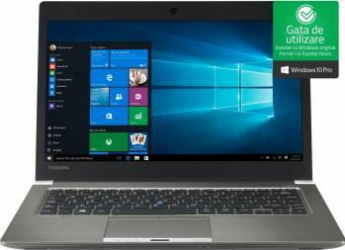 Laptop Toshiba Portege Z30-C-16M Intel Core i7-6500U 256GB 8GB Win10 Pro FullHD Laptop laptopuri